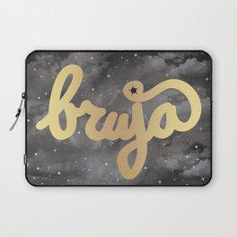 La Bruja Vibes in Gold Laptop Sleeve