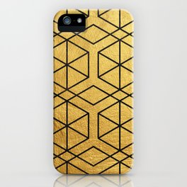 Golden Mosaic  iPhone Case