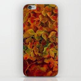 Hydrangea Glow iPhone Skin