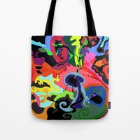 revolution Tote Bags featuring REVOLUTION by rLOVEution