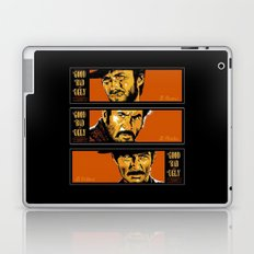 the good ,the bad , and the evil Laptop & iPad Skin