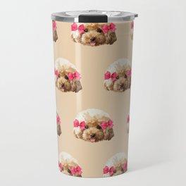 Baby Poodle Travel Mug