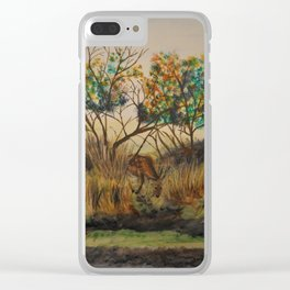 Deer Me! Clear iPhone Case