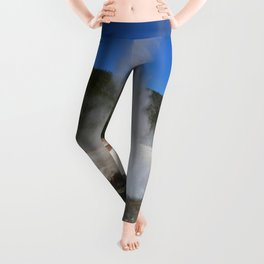 Thermal And Geyser Field Yellowstone NP Leggings