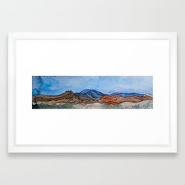 Utah Skyline Framed Art Print