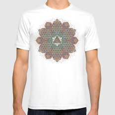 Our Origins. Mens Fitted Tee MEDIUM White