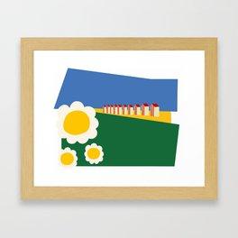 The riviera Framed Art Print
