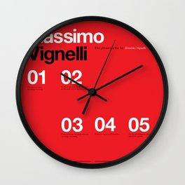 Massimo Forever 01 Wall Clock