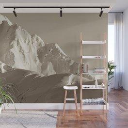 Alaskan Mts. - Mono I Wall Mural