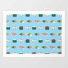 I Love Sushi! Art Print