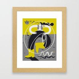 Desert Dancer Framed Art Print