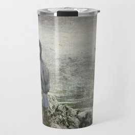 Two Cormorants Travel Mug
