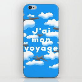 J'AI MON VOYAGE iPhone Skin