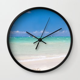 whispers of the sea Wall Clock