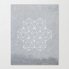 Sacred Geometry - Stars Canvas Print