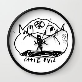 Little Evil Wall Clock