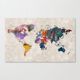 World Map 59 Canvas Print