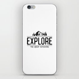 Explore the Great Outdoors iPhone Skin
