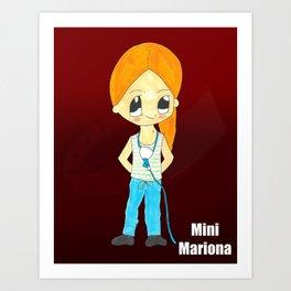 MiniMariona Art Print