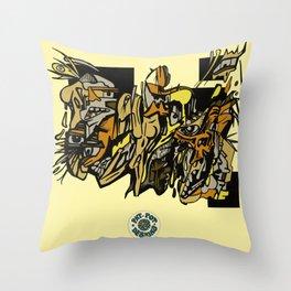 Crisps Throw Pillow