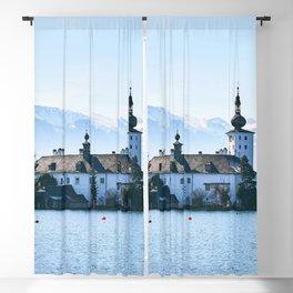 Elegantly Noble Fairytale Castle Schloss Ort Gmunden Austria Europe Ultra HD Blackout Curtain