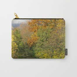 Walking Through Autumn Carry-All Pouch
