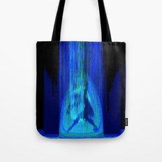 Upload (Green & Blue Channels) Tote Bag