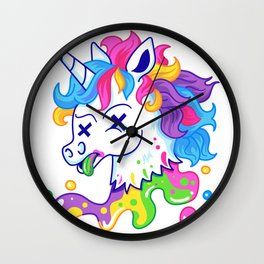 Deadicorn Wall Clock