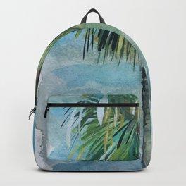 Ocean Beach Palm Backpack