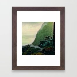 Mists In The Pitons: St. Lucia Framed Art Print