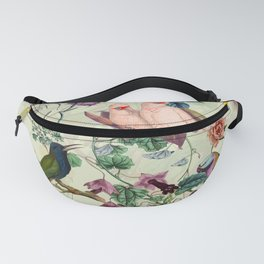 Floral and Birds VIII Fanny Pack