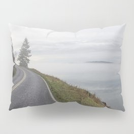 ALONG THE WEST SOUND BLUFF FOGGY MORNING Pillow Sham