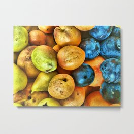 fresh fruit Metal Print