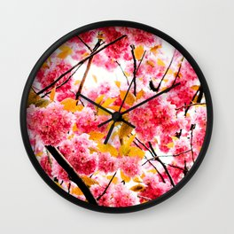 Why work out? Winter one Wall Clock