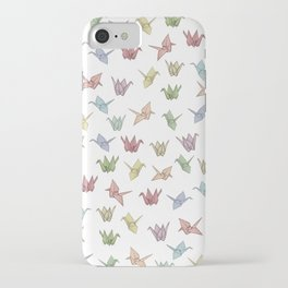 Origami Cranes iPhone Case