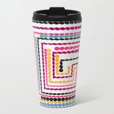 Bead maze Metal Travel Mug