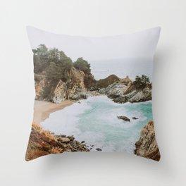 big sur iii / california Throw Pillow