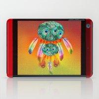 dreamcatcher iPad Cases featuring Dreamcatcher by Ganech joe