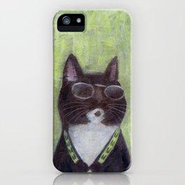 Cat in Shades iPhone Case