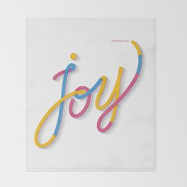 Joy Throw Blanket