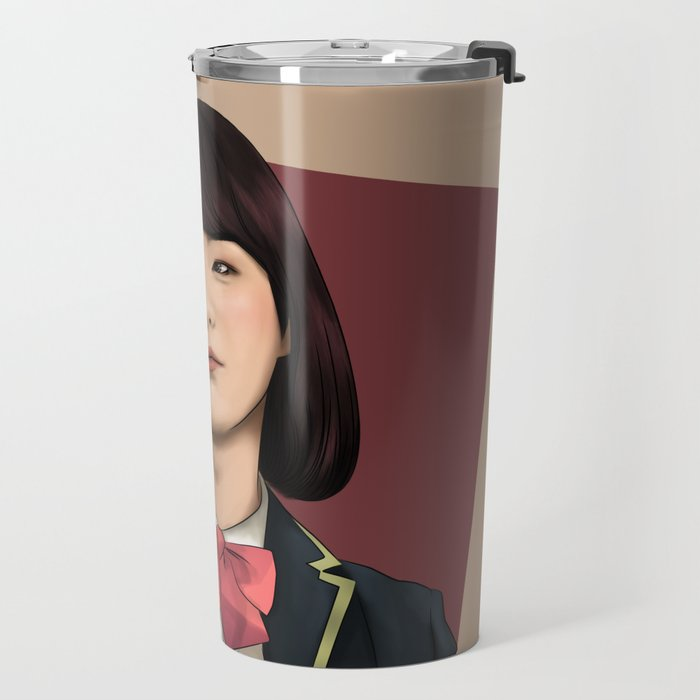 BTS SUGA FEMALE FANART Travel Mug