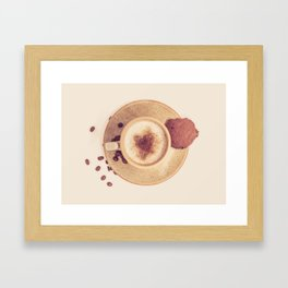 Vintage Coffee Love Photography Framed Art Print