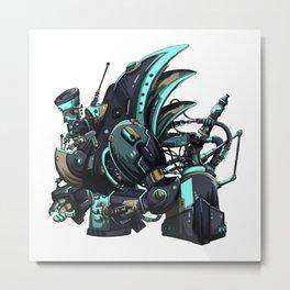 BLAZEWRAITH : Mechanic Origins Metal Print