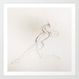 Gesture No.1 Art Print