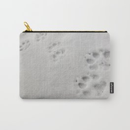 Yellow Stone - Wolf Tracks Carry-All Pouch
