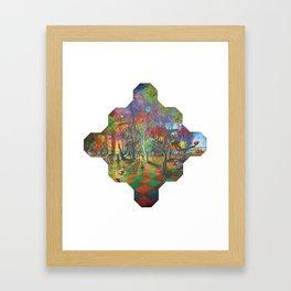 The Molecule Framed Art Print