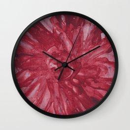rose theme Wall Clock