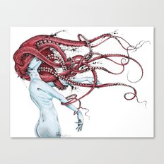 Septoid Canvas Print