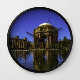 Palace Of Fine Arts - San Francisco Wall Clock