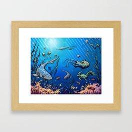 Unda da Sea Framed Art Print